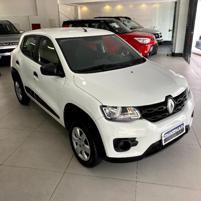 Kwid Zen 2018/2019 Completo, único dono, todo revisado na Renault, garantia até 12/2021 ! - Foto 3