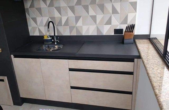 Pias e Bancadas em Porcelanato - Banheiros - Cozinhas - Salas - Quartos - Foto 6