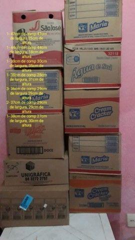 10 caixas de papelão só hoje - Foto 2
