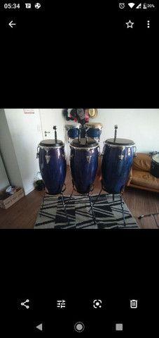 Vendo percussão completa - Foto 3