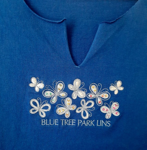 Camiseta Pierim Azul Royal, Tam. M - Foto 3