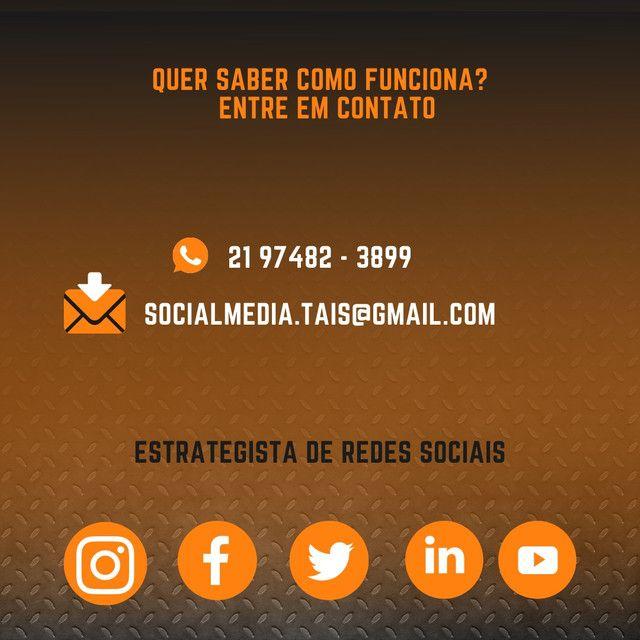 Social Media   Gerenciamento de redes sociais - Foto 3