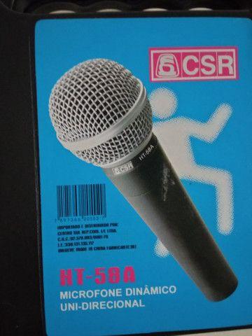 Microfone dinâmico unidirecional