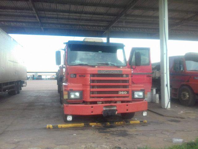 Scania 112h engatado carreta khronne 88 - Foto 12