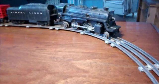 Trem Elétrico Antigo Lionel Lines - Foto 3