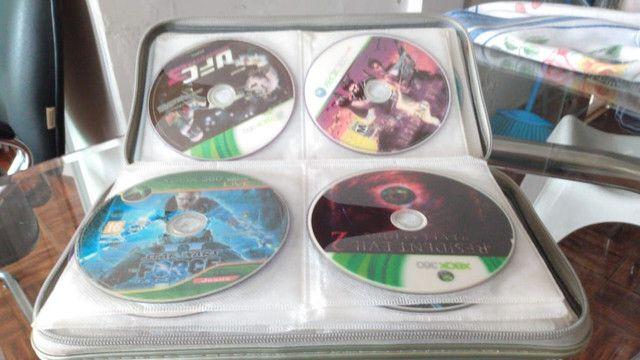 X box 360 com 50 jogos  - Foto 2