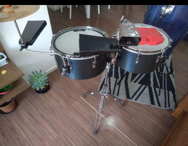 Vendo percussão completa - Foto 4