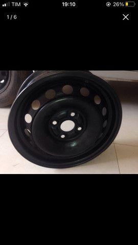 Roda 14 de ferro Toyota Etios Nova