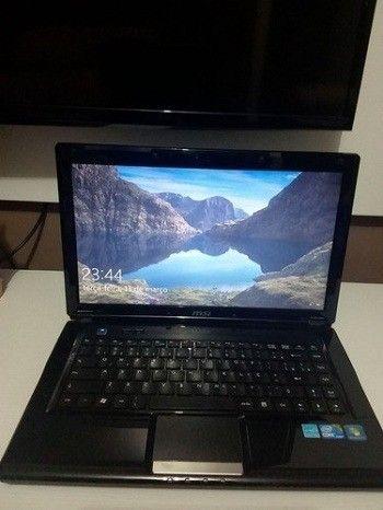 Muito barato-Notebook Msi Cr420 Mx intel Core i3 ,com bateria excelente ,aceito oferta - Foto 2