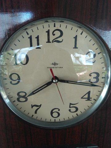 Relógio de parede antigo - Transistora - Foto 2