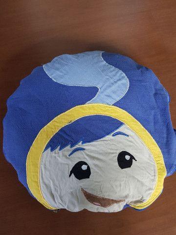 Almofada vira cobertor 2 em 1