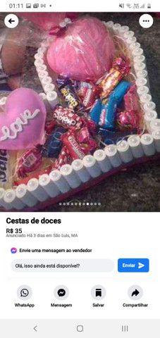 Lindas cestas de bombons  - Foto 2