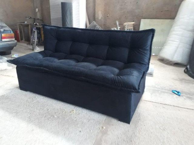 Sofá cama fofão novo da fábrica - Foto 6