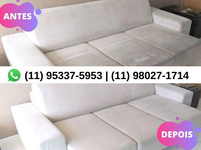 Limpar Sofá   Limpeza de Sofá   Higienização de Sofá   Estofado Limpinho   Sofá Limpo