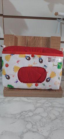 Porta fraldas e lenço umidecido  - Foto 2