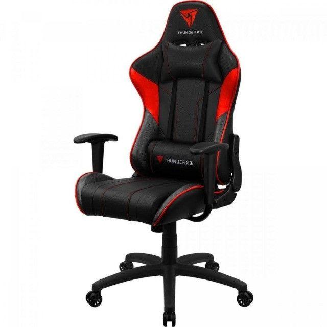 Cadeira Gamer EC3 Vermelha ThunderX3 - Foto 2