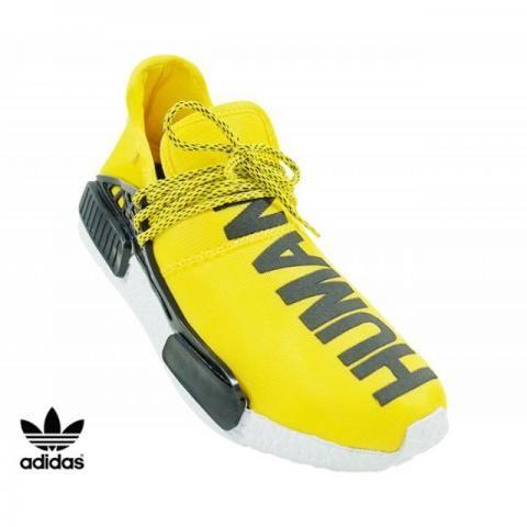 Tênis Masculino Adidas NMD PW HU Amarelo