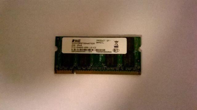 Memórias ddr2 - 1GB -2GB USADAS