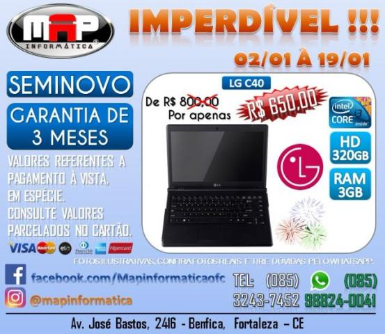 Notebook i3 com garantia Imperdivel