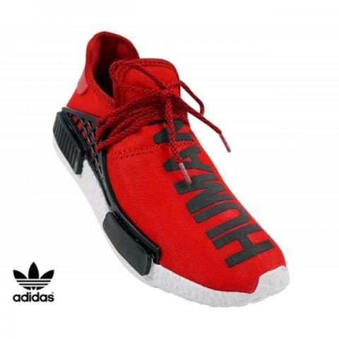 Tênis Masculino Adidas NMD PW HU Vermelho