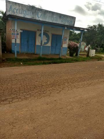Casa medindo 6x6 mais um ponto comercial ao lado ( Localização BR 364 Vila Campinas )