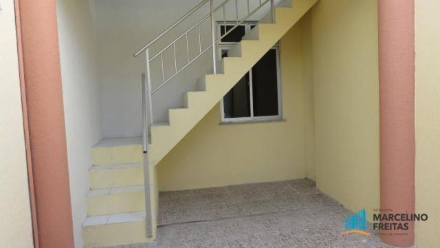 Casa com 2 dormitórios para alugar, 130 m² por R$ 1.109/mês - Quintino Cunha - Fortaleza/C - Foto 16