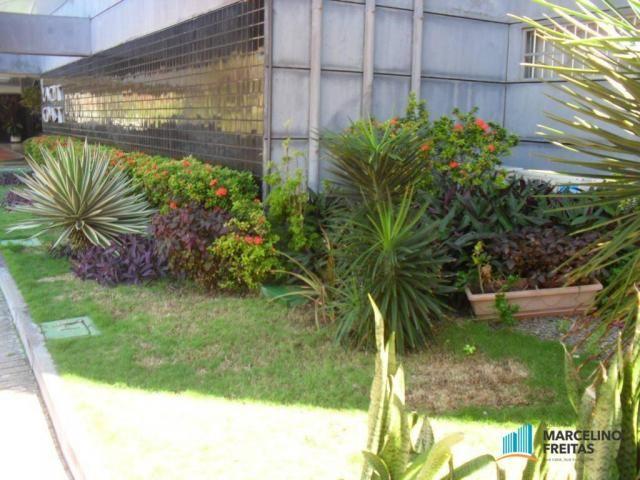 Flat residencial para locação, Mucuripe, Fortaleza. - Foto 4