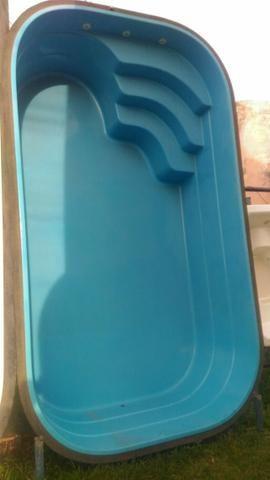 Piscina 4,70x2,66 (10x) Branca ou azul (direto da fábrica) - Foto 4