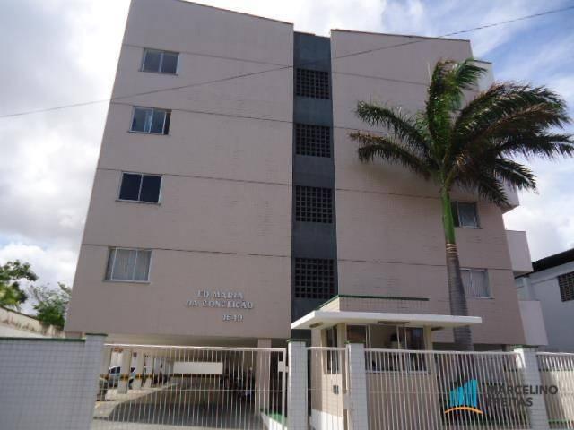 Apartamento com 1 dormitório para alugar, 50 m² por R$ 609,00/mês - Centro - Fortaleza/CE