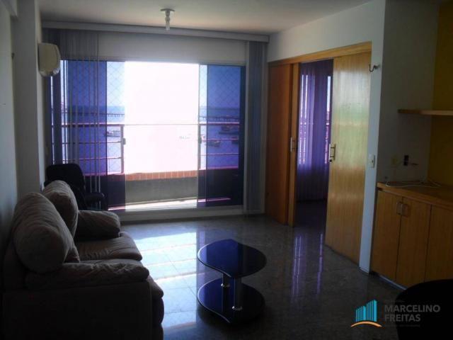 Flat residencial para locação, Mucuripe, Fortaleza. - Foto 12