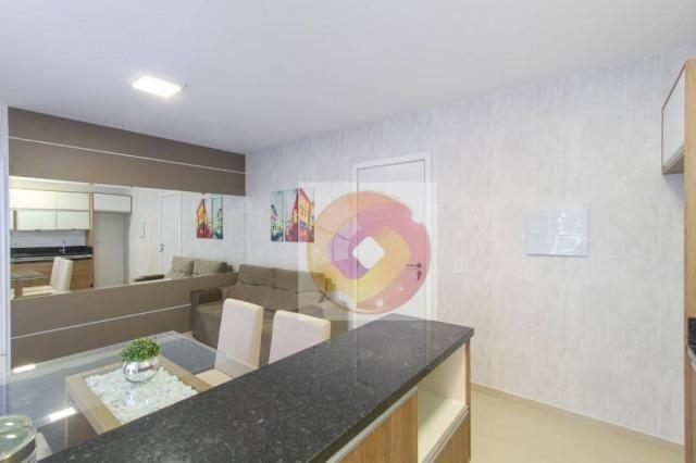 Apartamento com 2 dormitórios à venda, 52 m² por R$ 173.500 - Cidade Industrial - Curitiba - Foto 10