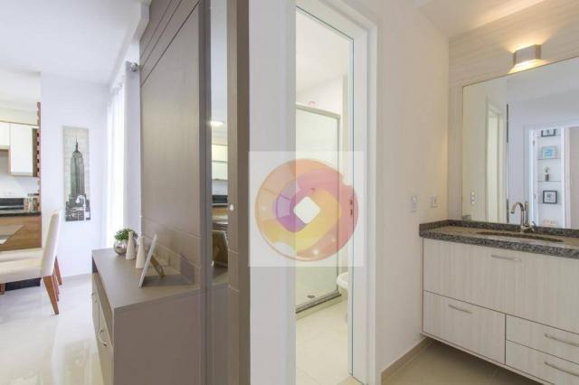 Apartamento com 2 dormitórios à venda, 52 m² por R$ 173.500 - Cidade Industrial - Curitiba - Foto 15