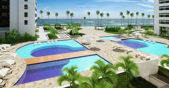 Jacarecica - Apartamento beira mar com 3 suítes - Foto 3