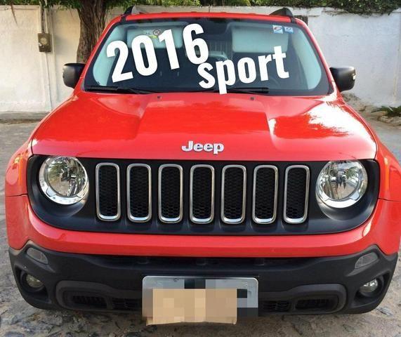 Renegade sport diesel vc de SUV no Ano Novo
