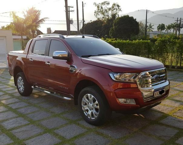 Ranger 3.2 Diesel 4x4 Limited - KM Real o carro é ZERO - Consigo Financiamento - 2017 - Foto 3