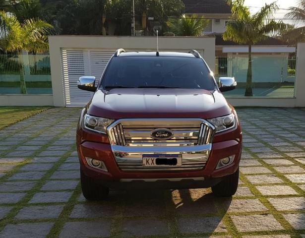 Ranger 3.2 Diesel 4x4 Limited - KM Real o carro é ZERO - Consigo Financiamento - 2017 - Foto 8