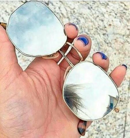 14d3d73bad2a7 Óculos Ray Ban Hexagonal Prata - Bijouterias, relógios e acessórios ...