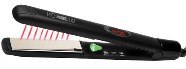 90661cc6f Prancha Mq Hair Titanio Infra Vermelho 450 Graus Profisional Perfeita p/  fazer Progressiva