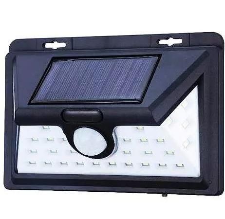 Arandela 32 Leds Bateria Solar