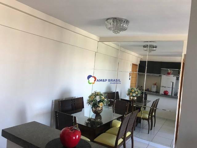 Apartamento com 3 dormitórios à venda, 84 m² por R$ 350.000 - Setor Sudoeste - Goiânia/GO - Foto 3