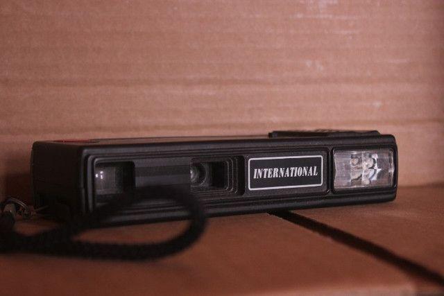 Antiga câmera analógica