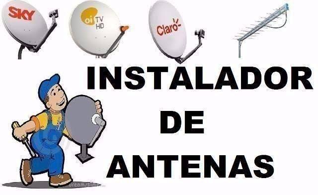 Profissional técnico Instalador de antenas