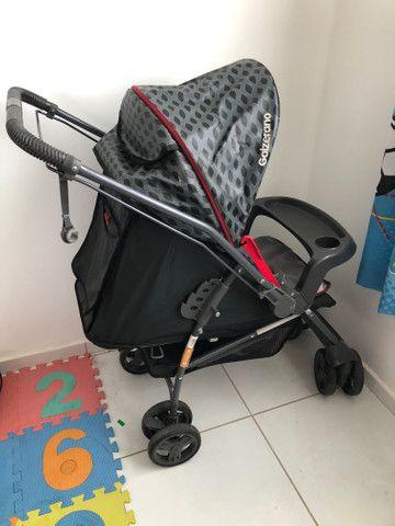 Vende-se carrinho de bebê Galzerano - Foto 2