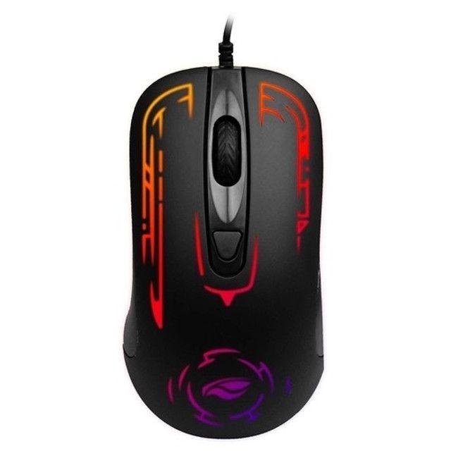 Mouse Gamer Com Fio USB MG-12BK C3tech 2.400Dpi RGB 4 Botões - Foto 4
