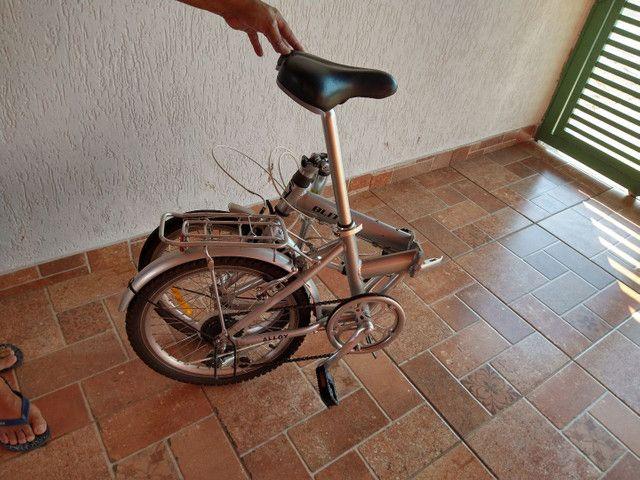 Bicicleta blitz alloy dobrável - Foto 3