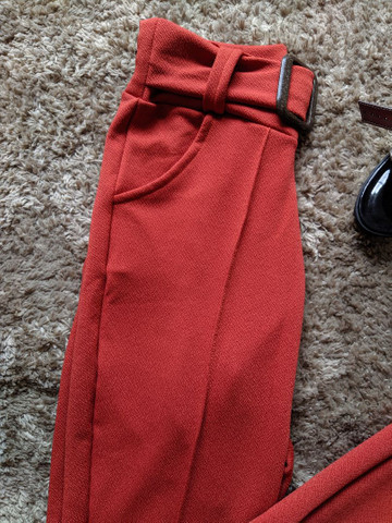 Calça colors em malha crepe produtos femininos - Foto 4