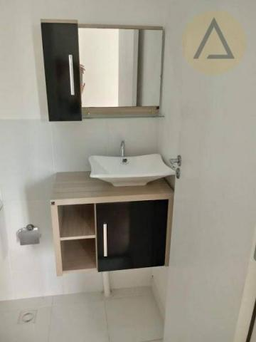 Atlântica imóveis tem excelente apartamento para locação/venda no bairro Glória em Macaé/R - Foto 14