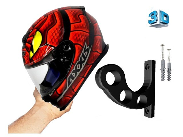 Suporte de parede para capacetes