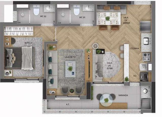 Apartamento com 2 Quartos à Venda, 60 m² - Osasco - Foto 17