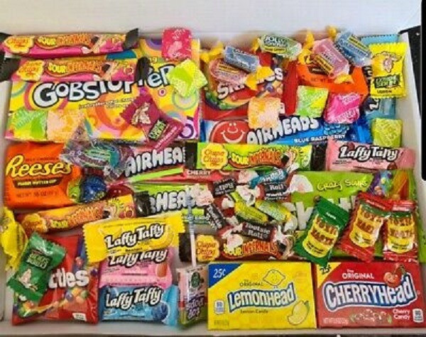(R$ 120,00) Caixa surpresa de doces e snacks americanos (EUA) variados - Foto 4